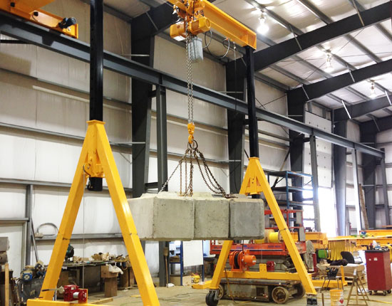 Portable 1 Ton Gantry Crane