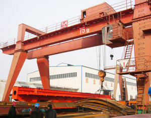 Double Girder 10 Ton Gantry Crane