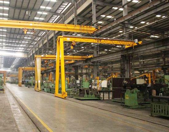 2 Ton Semi Gantry Crane