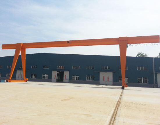 Single Girder 20 Ton Gantry Crane