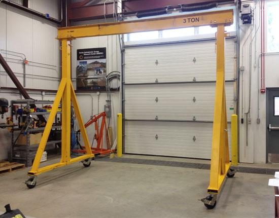 3 Ton Steel Gantry Crane