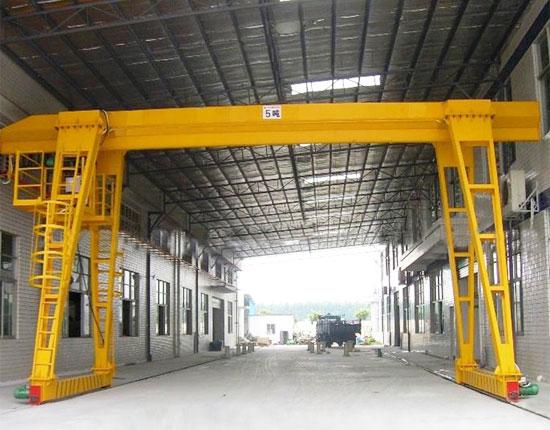 Single Girder 5 Ton Gantry Crane