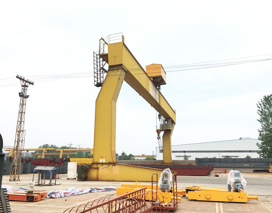 L Shaped Electric Gantry Crane