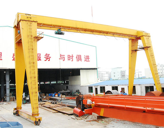 Single Girder Gantry Crane Supplier