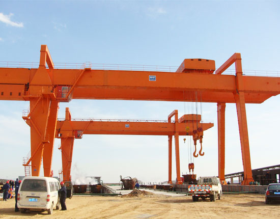 U Frame 50 Ton Gantry Crane