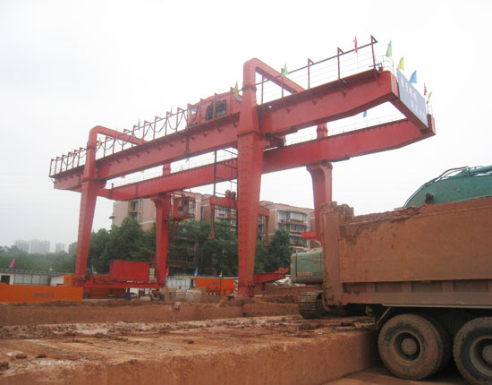 U Type 15 Ton Gantry Crane