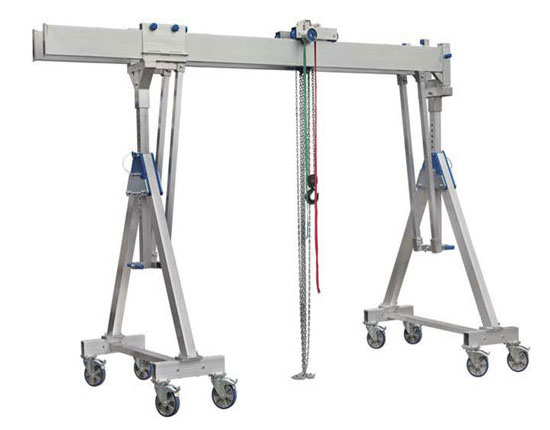 Portable Aluminum Gantry Crane