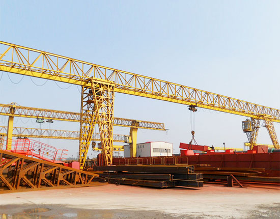Truss Gantry Crane with Cantilever