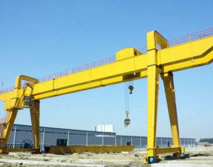 Electric Double Girder Gantry Crane