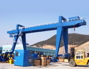 Double Girder Gantry Crane with Cantilever