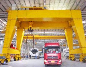 Indoor Double Girder Gantry Crane