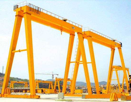 Double Girder Shipyard Gantry Crane