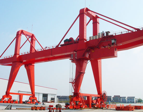 100 Ton Double Girder Gantry Crane