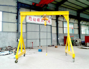 Garage Gantry Crane Price