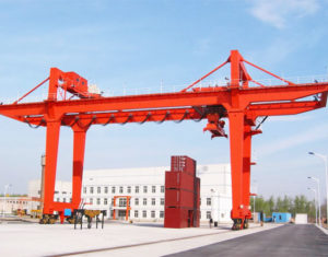 Rail Mounted Gantry Crane for Sale