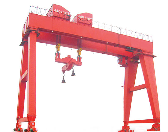 Rail Mounted Gantry Crane