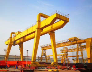 Rail Mounted Double Girder Gantry Crane