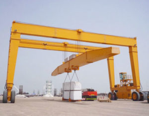 Ellsen Rubber Tyred Gantry Crane