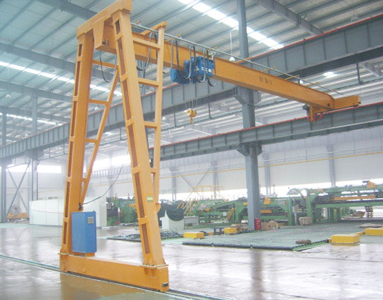 Garage Semi Gantry Crane