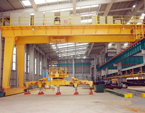 Ellsen Double Girder Semi Gantry Crane