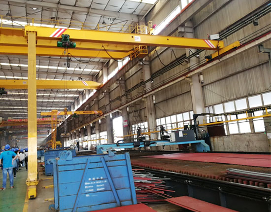 Electric Semi Gantry Crane