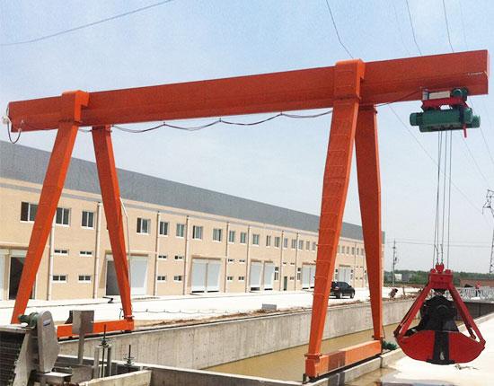 Single Girder Cantilever Gantry Crane