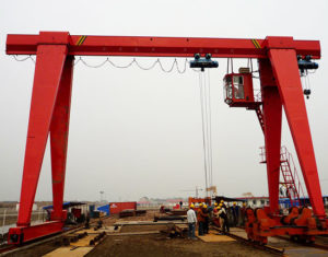 Single Girder 15 Ton Gantry Crane
