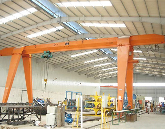 Single Girder Garage Gantry Crane