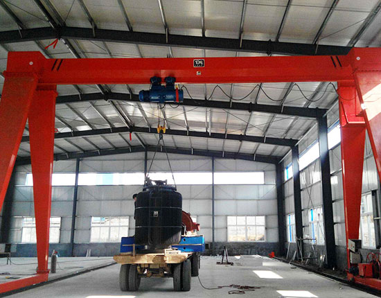 Single Girder Indoor Gantry Crane
