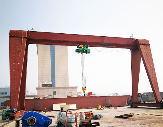 Single Girder Gantry Crane Price