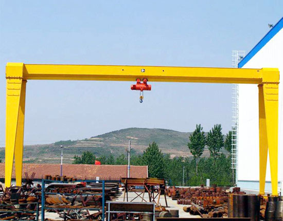 Single Girder Outdoor Gantry Crane