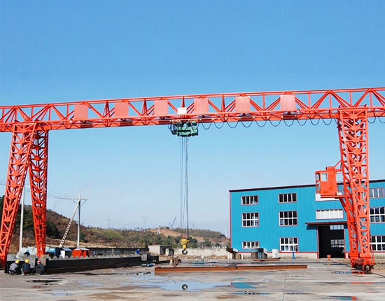 Single Girder Truss Gantry Crane