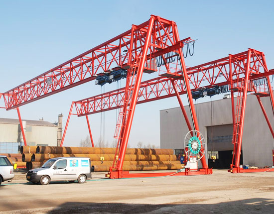 40 Ton Truss Gantry Crane