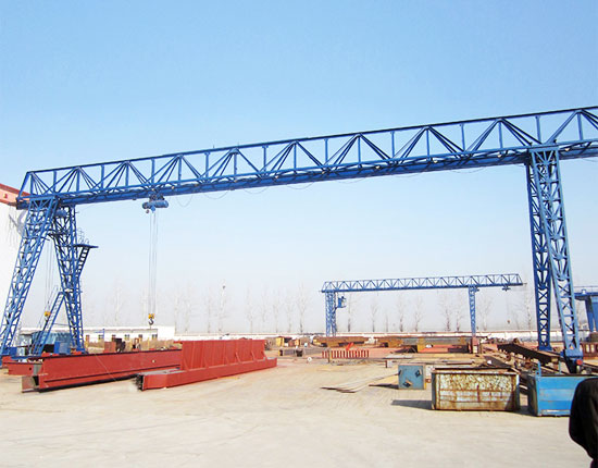 Truss Gantry Crane With One Cantilever