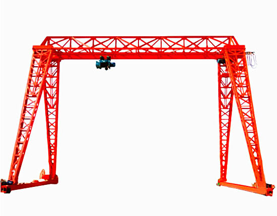 Truss Gantry Crane Without Cantilever