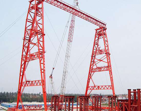 Single Girder Truss Gantry Crane 10t