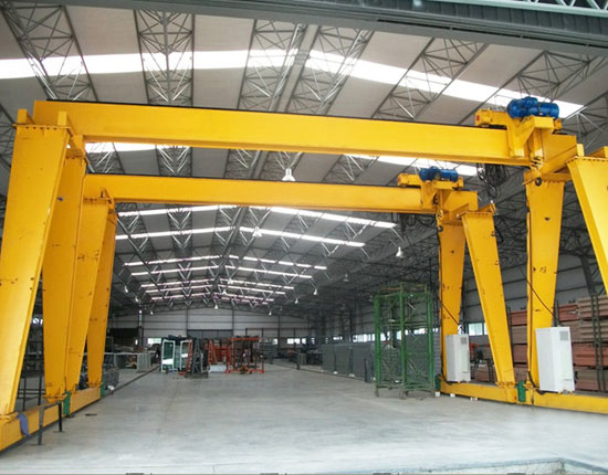 Workshop Single Girder Gantry Crane