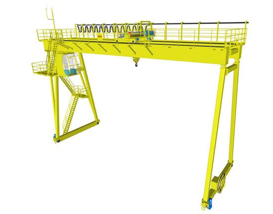 Industrial Double Girder Gantry Crane