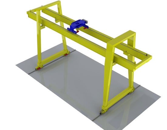 Quality Double Girder Gantry Crane