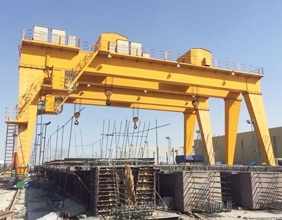 25 Ton Double Girder Gantry Crane
