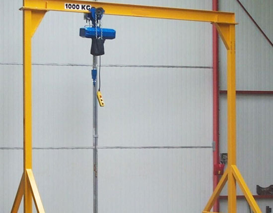 Portable Workstation Gantry Crane
