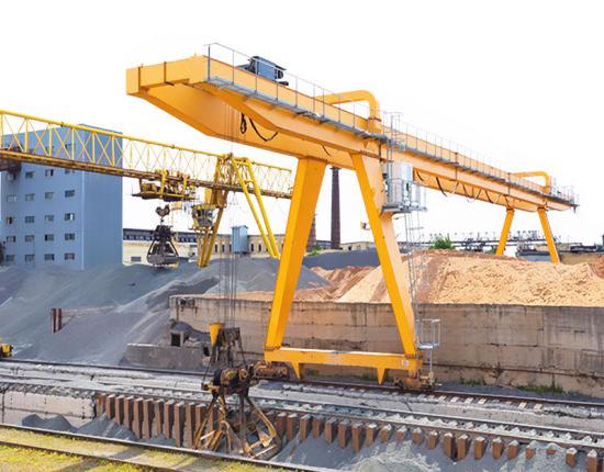 Industrial Rail Mounted Gantry Crane
