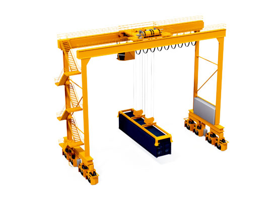 Rubber Tyred Gantry Crane 25 Ton