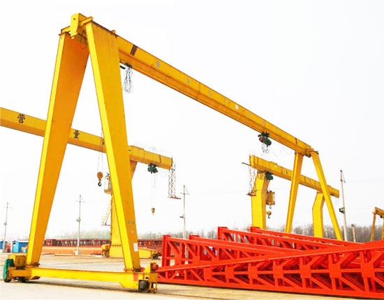 Single Girder A Frame Crane