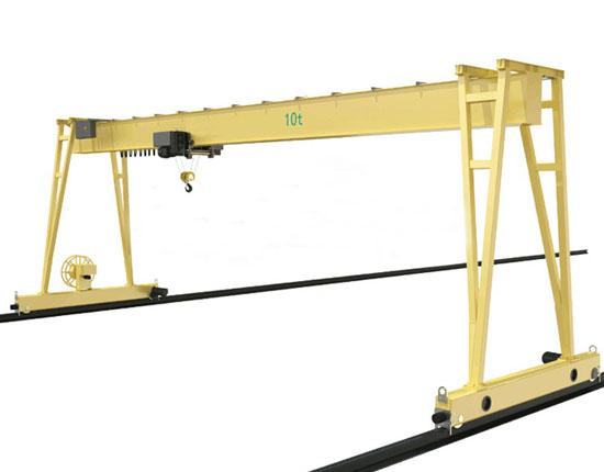 Single Girder Industrial Gantry Crane