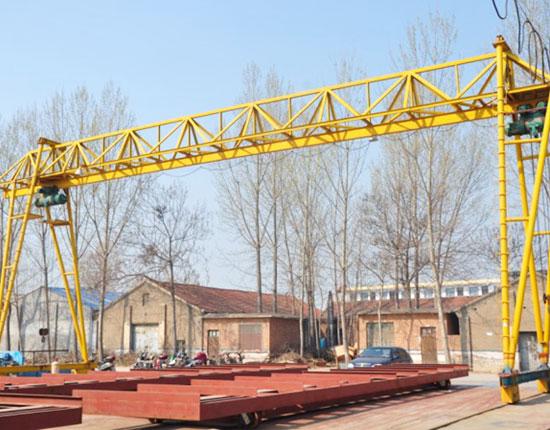 Electric Hoist Truss Gantry Crane