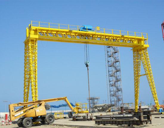 Double Girder Truss Gantry Crane