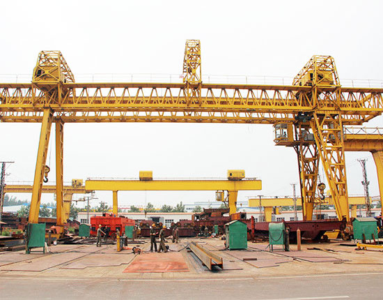 25 Ton Truss Gantry Crane