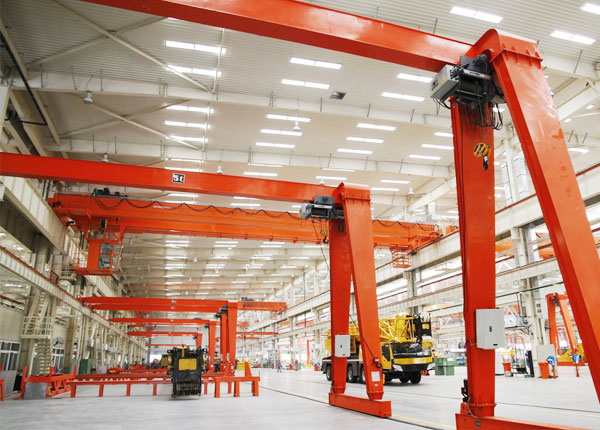 Semi Gantry Crane for Workstation