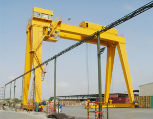MG Double Girder Motorized Gantry Crane